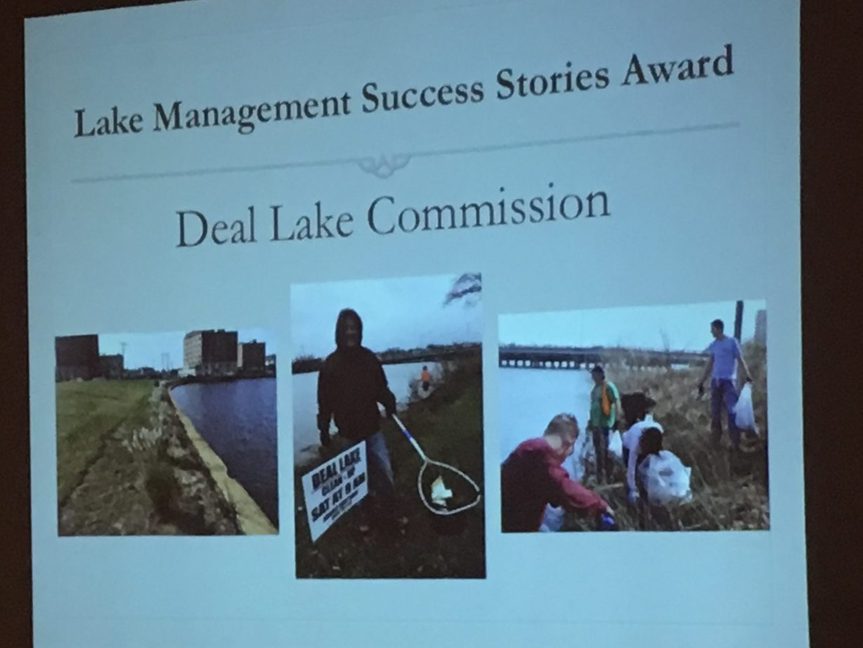 Deal Lake Commission Receives Award at NALMS' 38th Annual Symposium