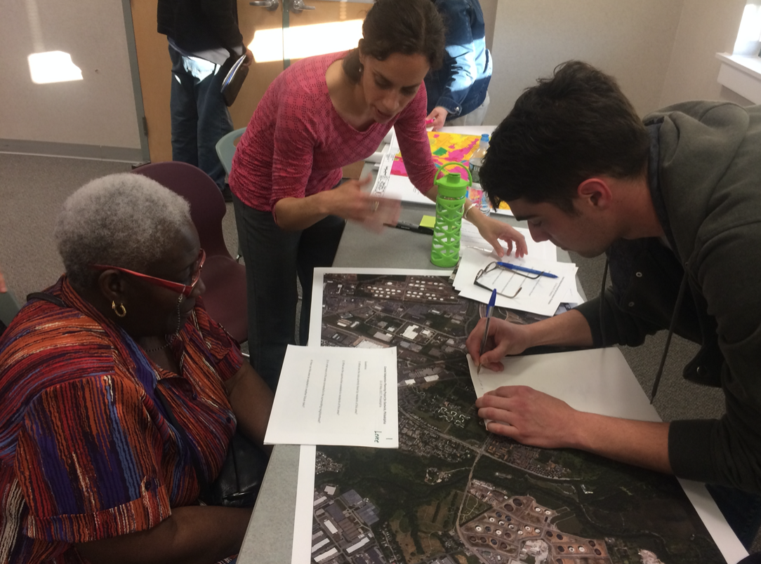 Princeton Hydro Senior Ecologist Christiana Pollack CFM, GISP participated in a workshop for Eastwick residents held by CCRUN and the Lower Darby Creek team. The goal of the workshop was to get the community's input on the accuracy of the predictive models.